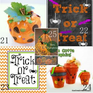 25 Cheap DIY Halloween Decorations - DIY Halloween Inspiration on budget! Make your Halloween special with adorable home made DIY decor. So cute!