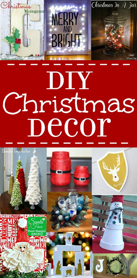 Diy Christmas Decor Ideas The Gracious Wife