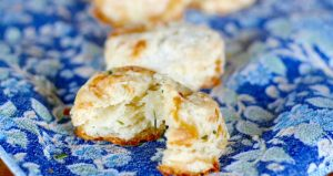 brie and chive biscuits FB