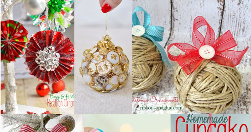 Diy christmas ornaments the gracious wife solutioingenieria Image collections
