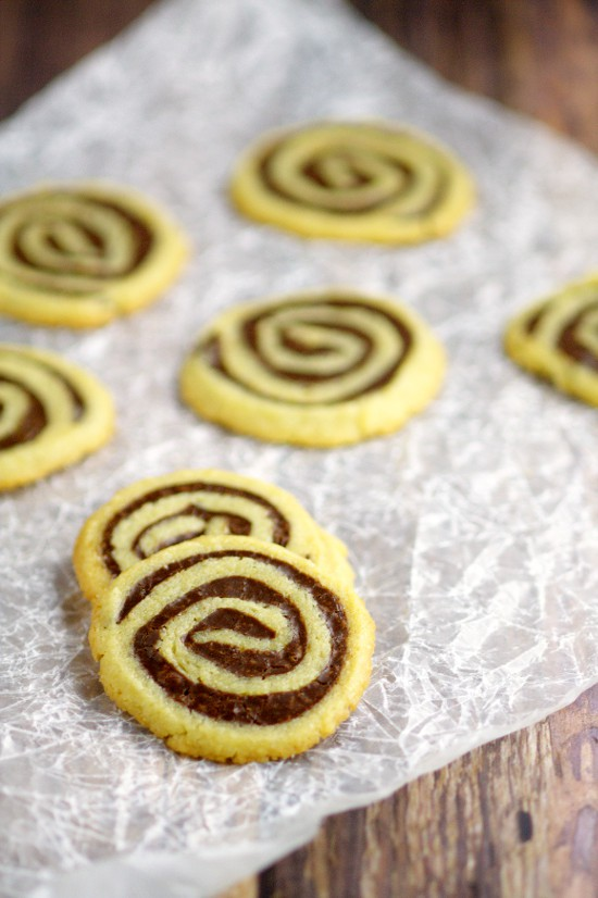 Fudge Butter Cookie Pinwheels Recipe are delicious homemade cookies recipe made with fudge and butter cookie dough! I make these every year for Christmas cookies! They're seriously like cookie crack!