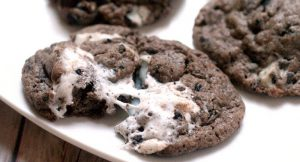 Marshmallow Oreo Chip Cookies fb