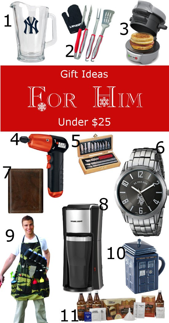 2018 25 and under gift guide for everyone the gracious wife gifts for him under 25 credainatcon - Best Christmas Gifts Under 25