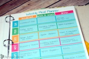 Home management binder free printables the gracious wife for Home planner free