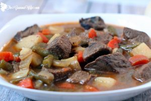 slow cooker cider beef stew 1