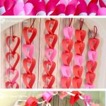 Valentine's Day Heart Paper Garland- 2 Tutorials!