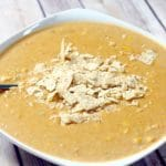 Southwest Bean Chowder is a creamy soup recipe that tastes similar to chicken tortilla soup! So good! From TheGraciousWife.com