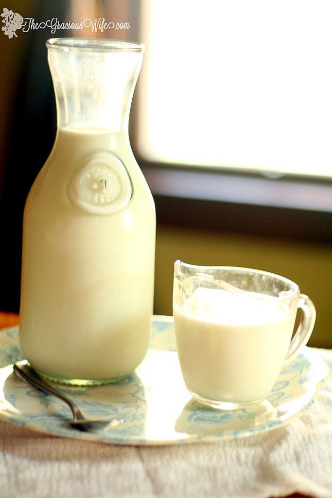 A helpful Buttermilk Substitute guide for when you don't have any on hand. Super easy, with just TWO ingredients and does the trick every time!| life hack | diy hack | food hack