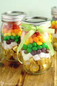 Rainbow Mason Jar Treats