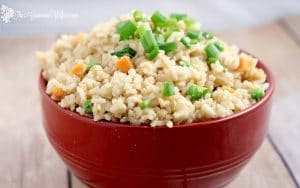 Learn how to make homemade Fried Rice at home with this easy copycat Fried Rice Recipe.  As good as the real restaurants! Great for an easy rice side dish recipe!
