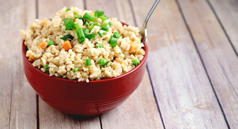 Learn how to make Fried Rice at home with this easy Fried Rice Recipe. As good as the real thing! #recipe #rice #chinese From TheGraciousWife.com
