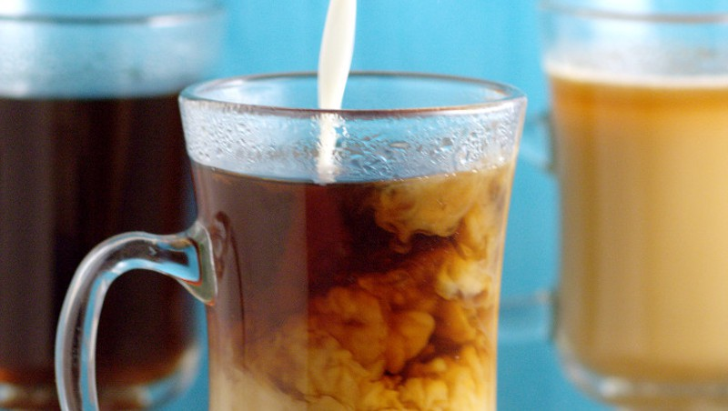 Homemade Marshmallow Coffee Creamer- A yummy, fun way to change up your morning coffee. It can be made in just 10 minutes, and is a great grown-up Easter treat. From TheGraciousWife.com