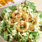 Southwest Salad Recipe with Spicy Honey Mustard