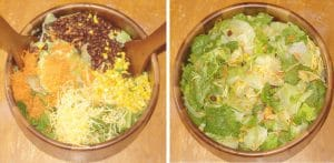 Southwest Salad Recipe with Spicy Honey Mustard Dressing Recipe - an easy salad recipe that's perfect for lunch or dinner.