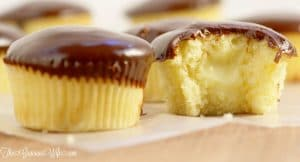 Boston Cream Pie Cupcakes | From TheGraciousWife.com