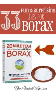 33 Surprising and Fun Uses for Borax - Cleaning, crafts, laundry, and more! So cool! | kitchen hacks | diy crafts | life hacks