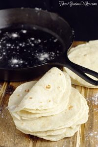 homemade how to make tortilla flour tacos soft