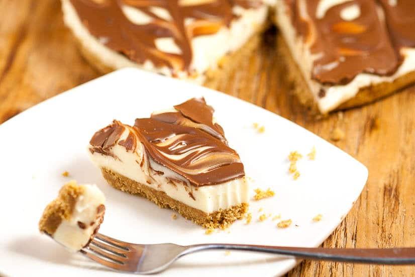 No Bake S 39 Mores Cheesecake The Gracious Wife
