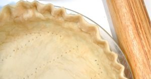 An easy, no-fail flaky pie crust recipe that comes out perfect, flaky, golden, and delicious. Every. Time. I use this flaky pie crust recipe for ALL my pies!