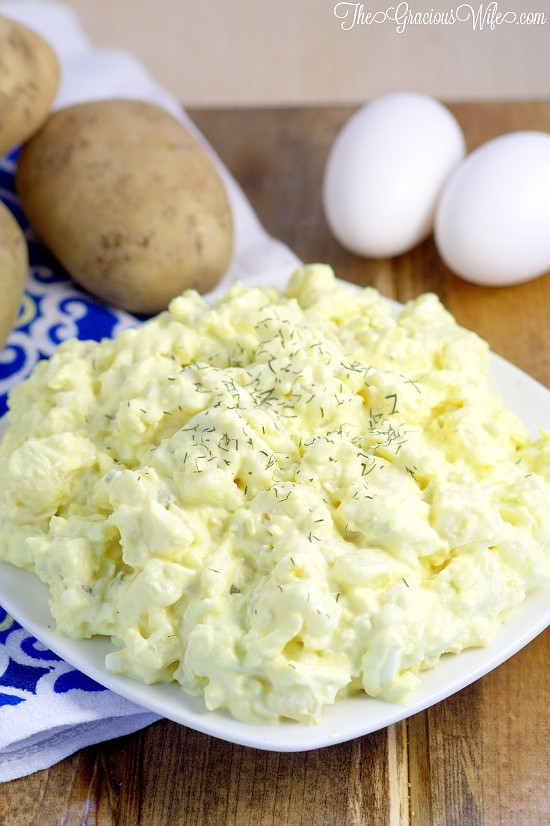 Deviled Egg Potato Salad Recipe - Easy potato salad recipe inspired by ...