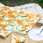 Cucumber Patio Pizza
