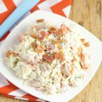 Creamy Coleslaw Recipe with Bacon