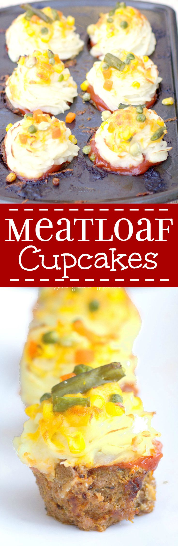 Meatloaf Cupcakes The Gracious Wife
