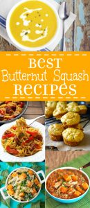 These Best Butternut Squash Recipes are perfect for your Fall garden harvest, from soups and stews, to breakfast, desserts, and dinners.