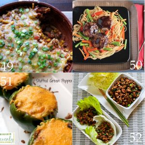 Over 50 Quick and Easy Dinner Ideas with Ground Beef - easy dinner ideas and recipes using ground beef that are delicious for family and simple enough for busy weeknights.