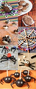 24 Halloween Spider Treats