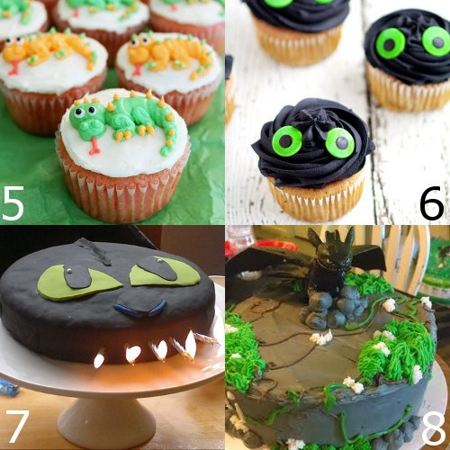 Toothless and How to Train Your Dragon Birthday Party ideas cakes food decorations & How to Train Your Dragon Birthday Party Ideas