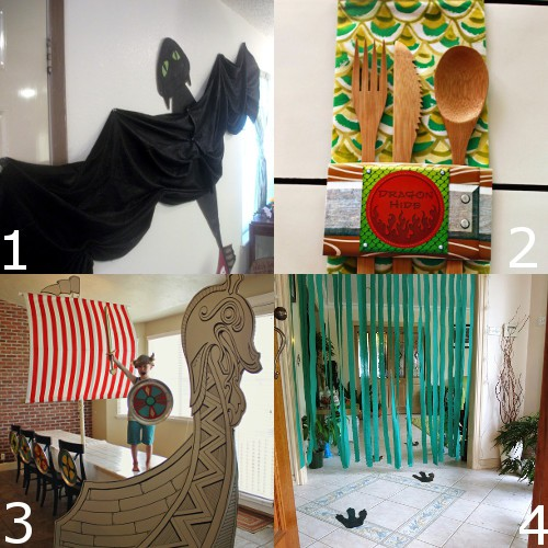 How to train your dragon birthday party ideas the - Dragon decorations for a home ...