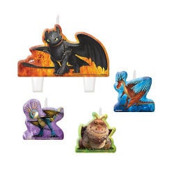 How to Train Your Dragon candles