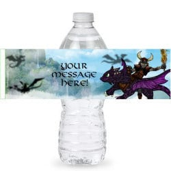 How to Train Your Dragon personalized label