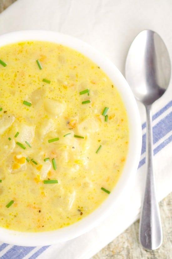 recipe: velveeta cheese potato soup recipe [28]