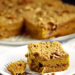 Pumpkin Cinnamon Coffee Cake