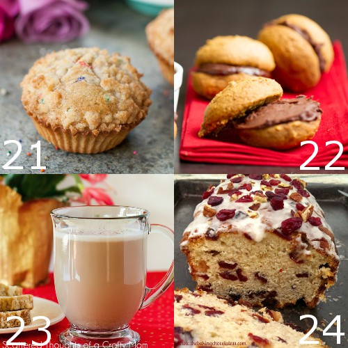 Perfect Festive Recipes with Eggnog that your family, friends, and guests will love for Christmas.  A favorite holiday flavor to add a special touch to your holiday! Eggnog dessert recipes are so delicious! Yum!