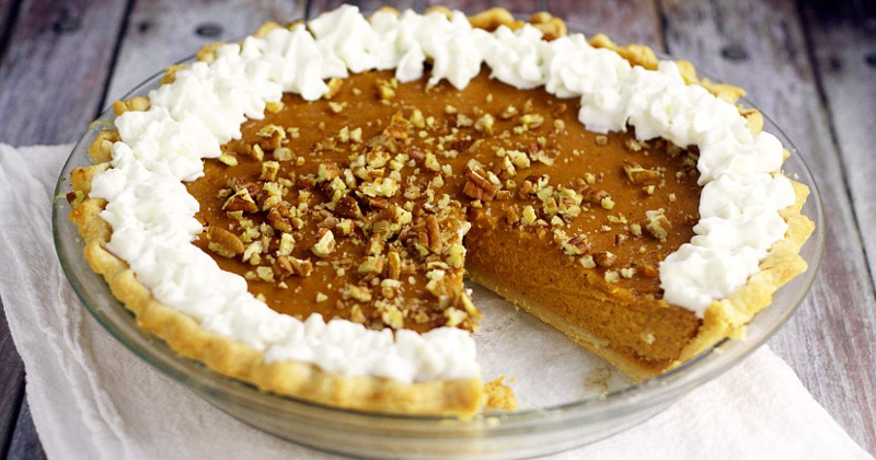 Sweet flavors of maple and pumpkin combine with spicy cinnamon and pumpkin spice in this Maple Pumpkin Pie for an unforgettable holiday dessert! Omg. Pumpkin and maple sound so fabulous together. Perfect Fall dessert and would be a super yummy Thanksgiving dessert recipe too!