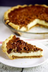 Pecan Cheesecake Pie
