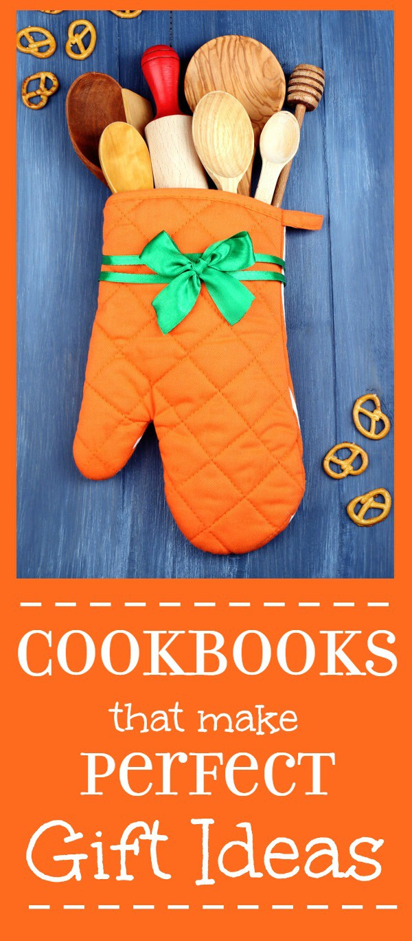 Favorite, must-have Cookbook Gifts ideas perfect for anyone who loves food. Classic recipes with beautiful pictures make perfect gifts for everyone! Perfect gift ideas for moms, friends, and foodies.