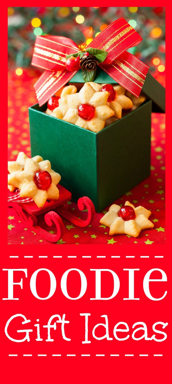 Foodie Gift Ideas are great Christmas gift ideas for everyone because who doesn't LOVE food?! These 30 awesome Foodie Gift Ideas are perfect Christmas gifts for your favorite foodie.