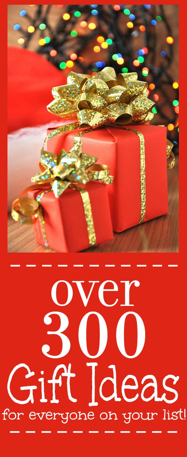 Holiday and Christmas gift ideas for everyone!Over 300 hundred gift ideas and 10+ gift guides to help you find the perfect gifts for everyone on your list!