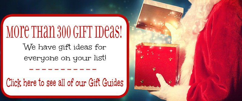 Holiday and Christmas gift ideas for everyone! Over 300 hundred gift ideas and 10+ gift guides to help you find the perfect gifts for everyone on your list!
