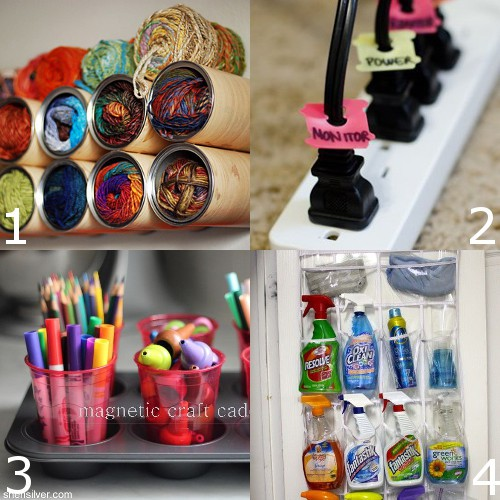 35 Diy Home Organizing Ideas