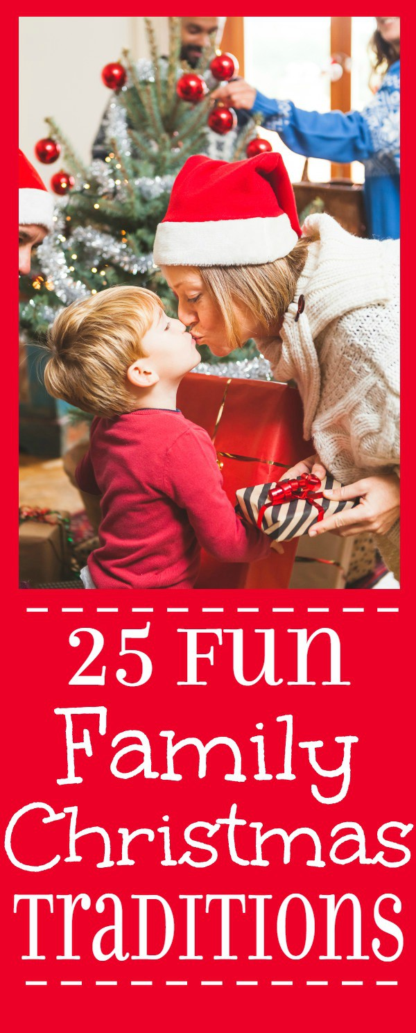 Fun Family Christmas Traditions and Christmas Eve Traditions.Don't get lost in your schedules and to-do lists. Remember to make magical Christmas memories with your family with these Fun Family Christmas Traditions ideas.