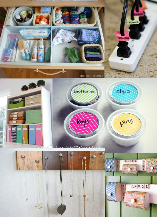 Superb Diy Organization Part - 13: DIY Home Organization Ideas. Use These Amazing And Helpful DIY Home  Organizing Ideas To Stay