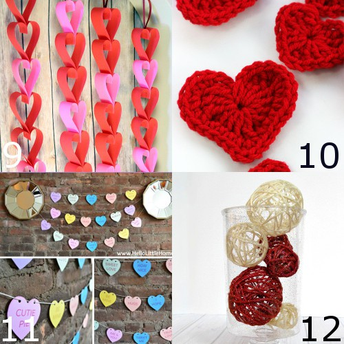 36 DIY Valentine's Day Decorations ideas.Pretty hearts and roses, pinks and reds, these fabulous DIY Valentine's Day Decorations will spruce up your house and have you dreaming of love! These are so cute, easy, and simple. Gotta try it!
