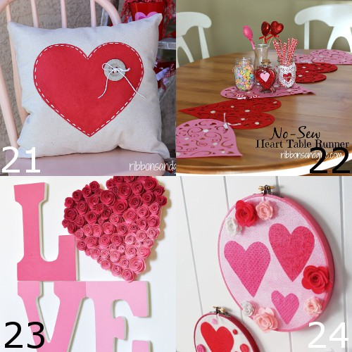 36 Easy And Beautiful Diy Projects For Home Decorating You: 36 DIY Valentine's Day Decorations
