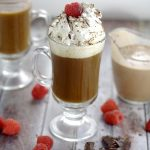 Homemade Chocolate Raspberry Coffee Creamer