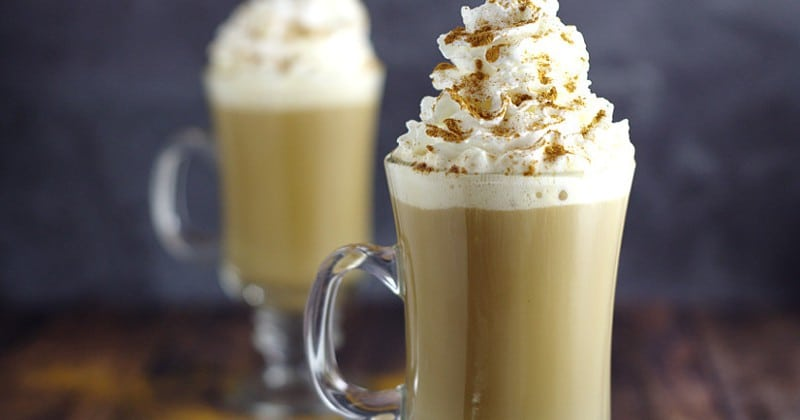 Homemade Cinnamon Dolce Coffee Creamer recipe is a sinful and decadent combination of caramel, cream, and cinnamon, making your coffee amazing! Perfect! Cinnamon dolce is my absolute favorite latte at Starbucks!